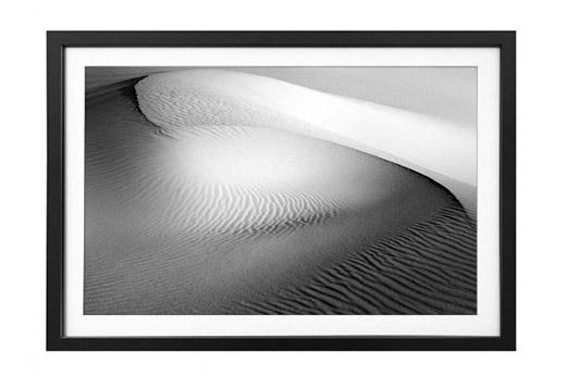 Bild Desert View schwarz weiß