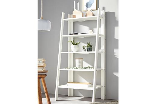 Home affaire Regal, Höhe 140 cm weiß