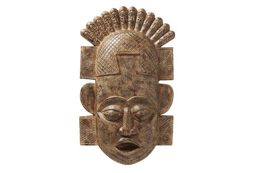 Wandschmuck African Mask 90cm braun