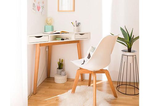 Schreibtisch Lindholm weiß