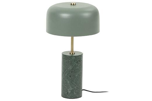 Tischleuchte Videl marmor grün