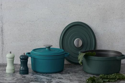Abram Salz- und Pfeffermühle Grün und Blau
