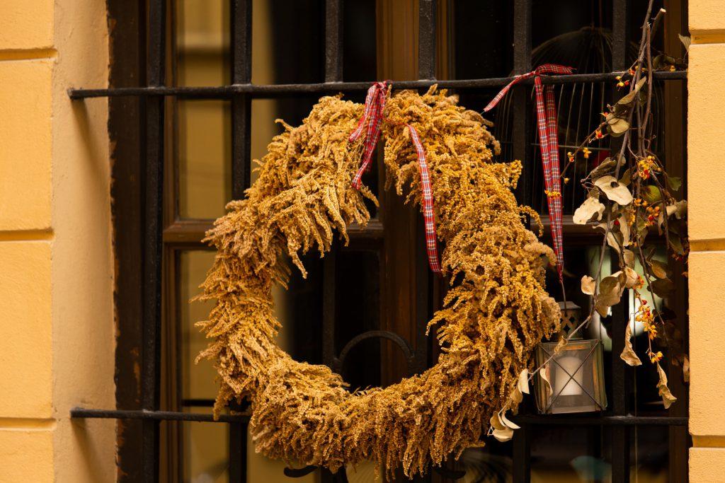 Herbstdeko basteln für Fenster Galerie 4