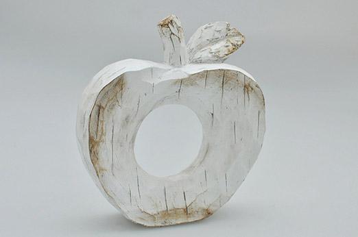 HTI-Line Dekofigur »Apfel« weiß