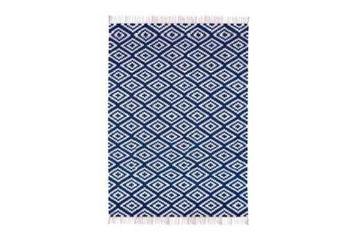 Teppich Apache blau