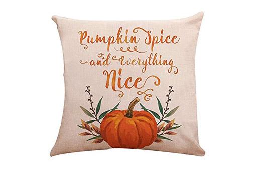 "Kissen Kürbis ""Pumpkin Spice"""