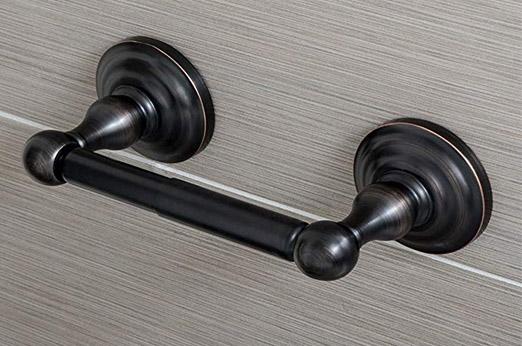 Klassischer  Toilettenpapierhalter - Geölte Bronze