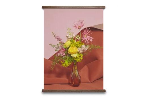 Blomst 07 rosa-rot Poster