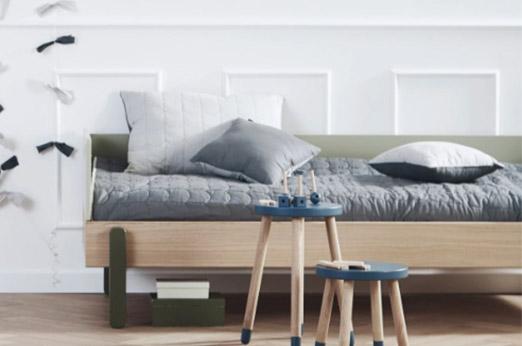 Flexa ROOM Steppdecke Tagesdecke (230x200 cm) aus 100% Baumwolle in grau