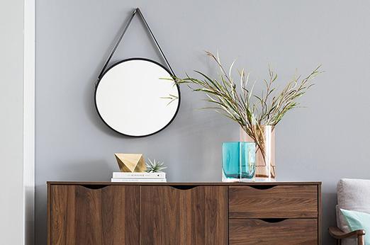 Spiegel Fremington schwarz