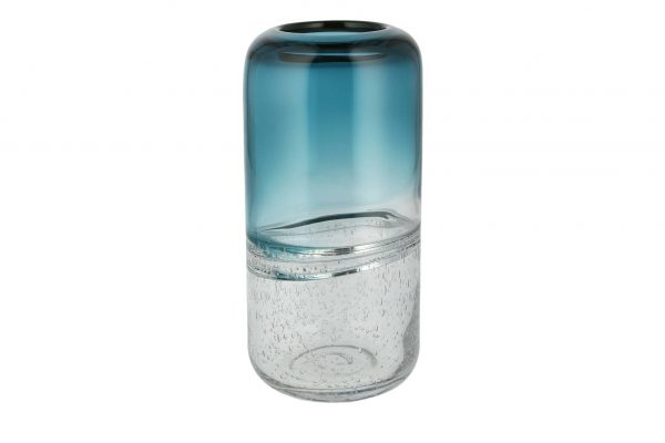 Peill+Putzler Vase blau Glas Maße (cm): H: 25 Ø: 12