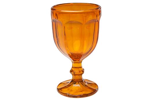 Weinglas Goblet Orange