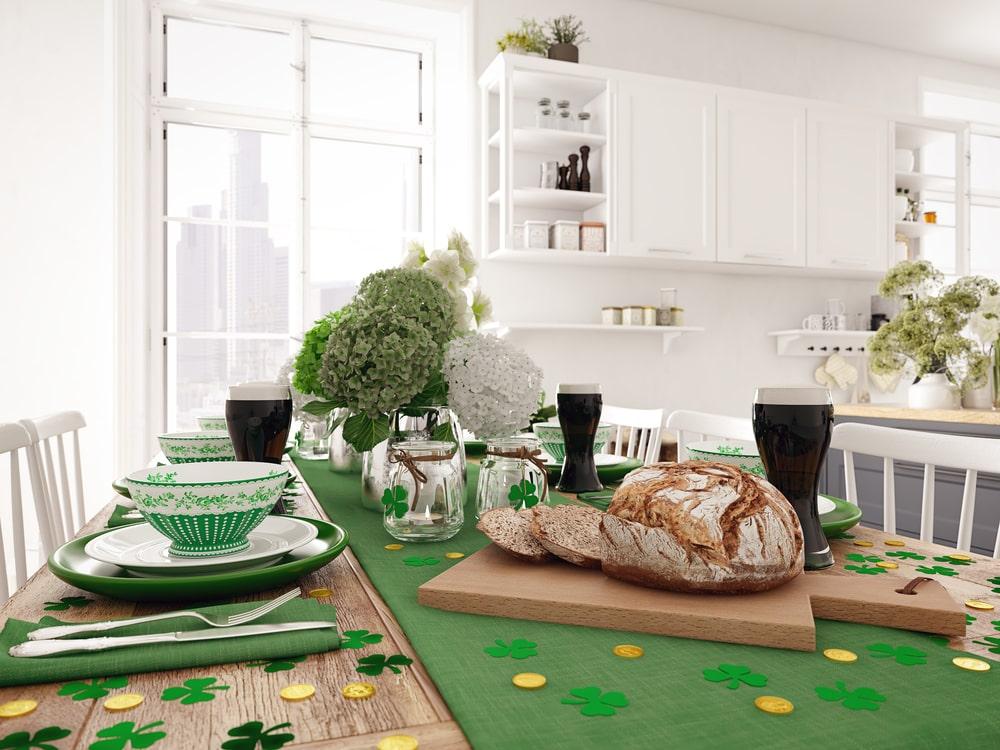 St Patricks Day Tischdeko