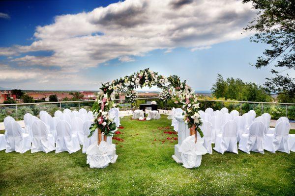 Hochzeitspavillion als Ideen für die spontane Gartenhochzeit