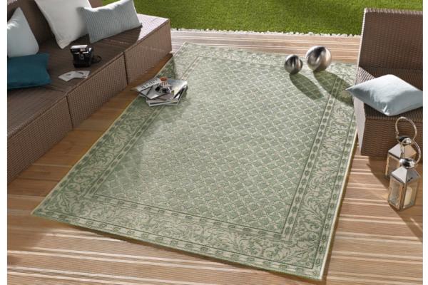 In- und Outdoorteppich Royal grün