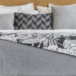 Muster kombinieren im Schlafzimmer