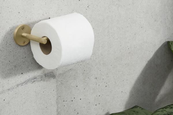 Jovi WC-Rollenhalter, Messing