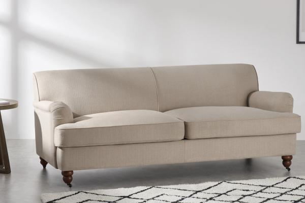 Orson 3-Sitzer Sofa, Natur