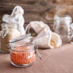 Gläser für Nachhaltigkeit in der Küche