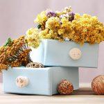 Trockenblumen Kasten