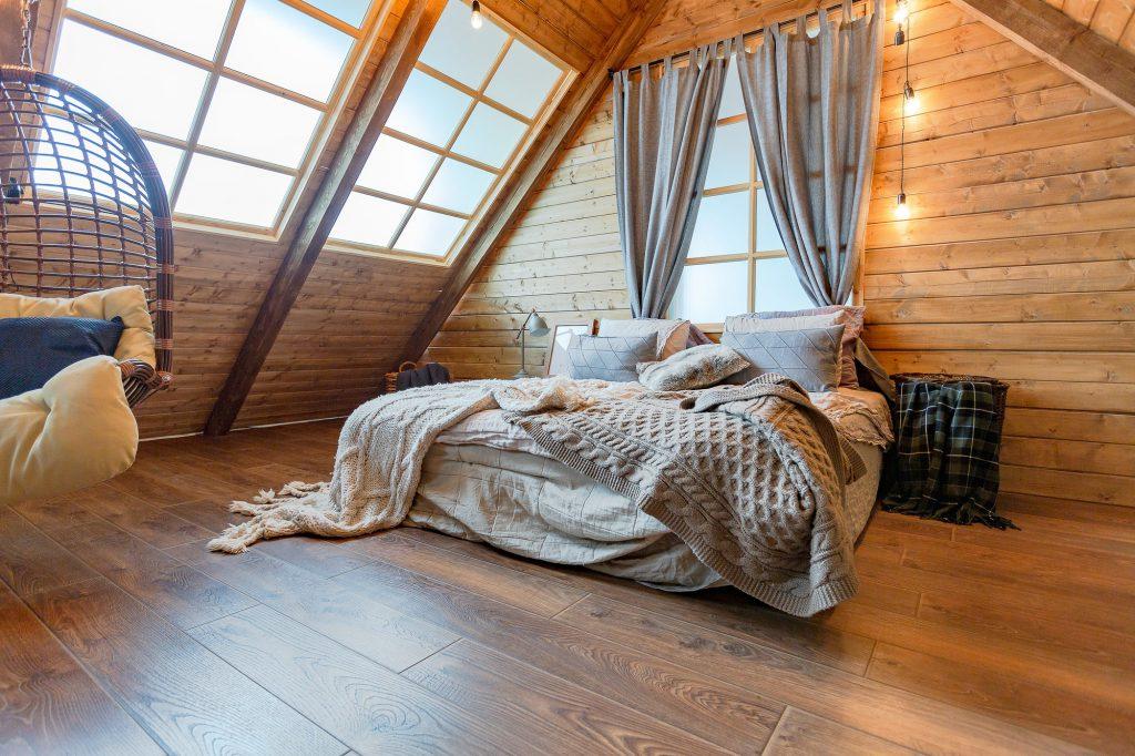Dachboden schlafzimmer Galerie1