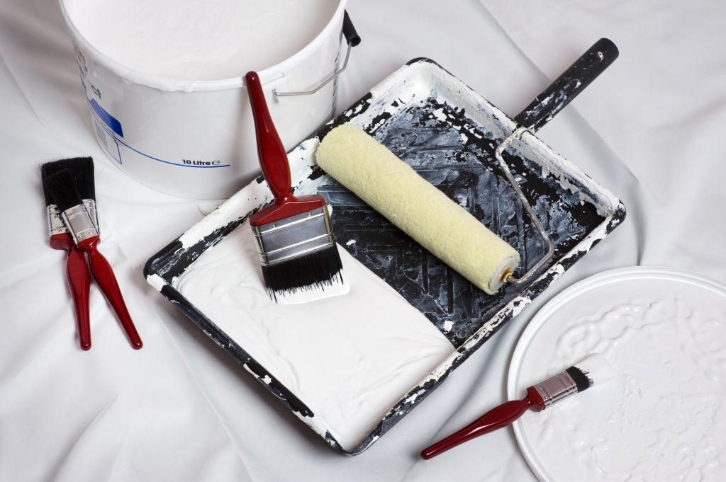 Malermaterial für Tipps für Heimwerker