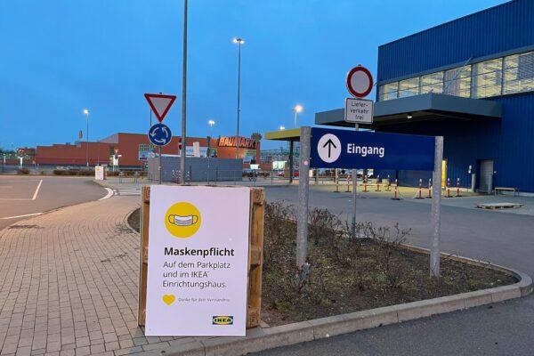 IKEA Click and Collect Vorschau