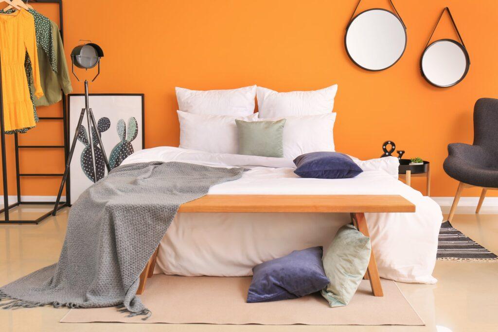 Wirkung von Farbe im Schlafzimmer Galerie1