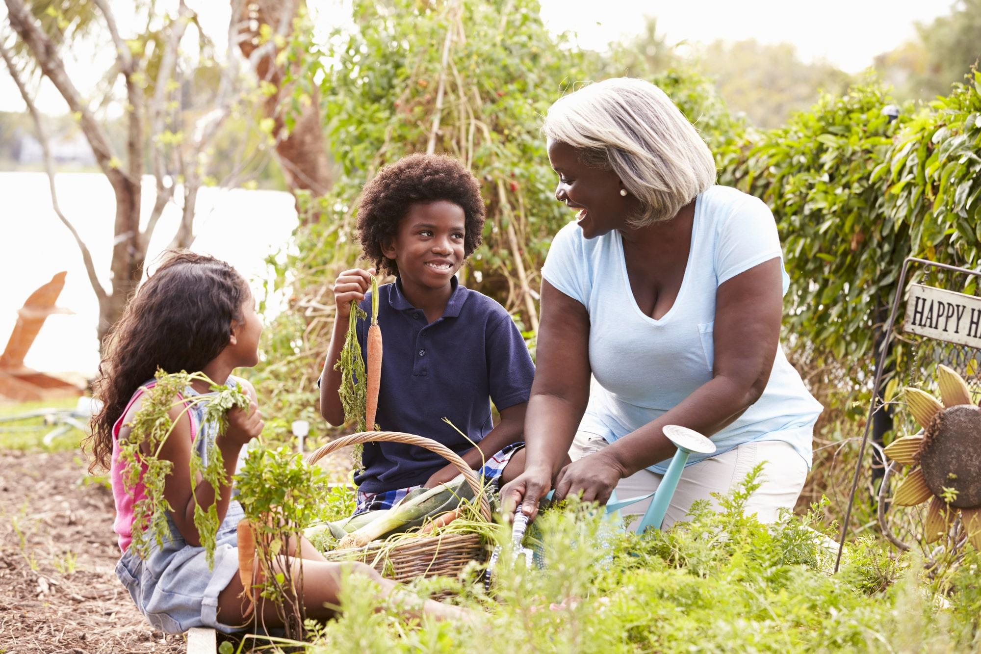 Gartenarbeit mit Kindern Vorschau