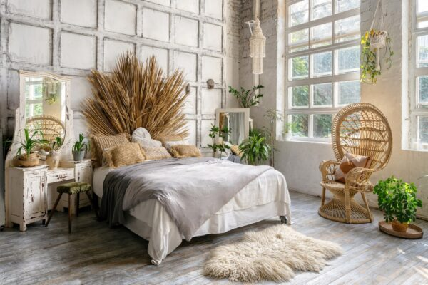 Boho Style fürs Schlafzimmer Vorschau