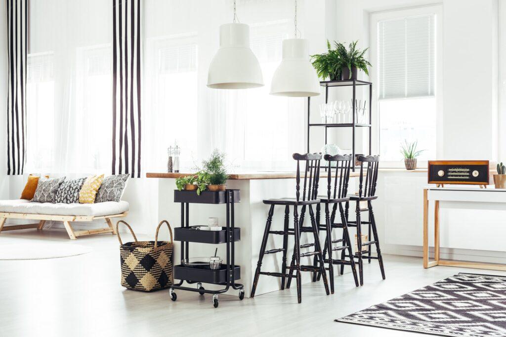Küche mit Küchentheke Galerie1