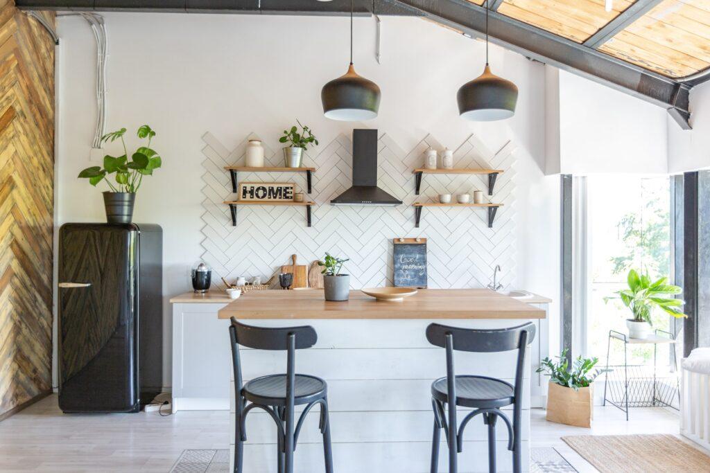 Küche mit Küchentheke Galerie2