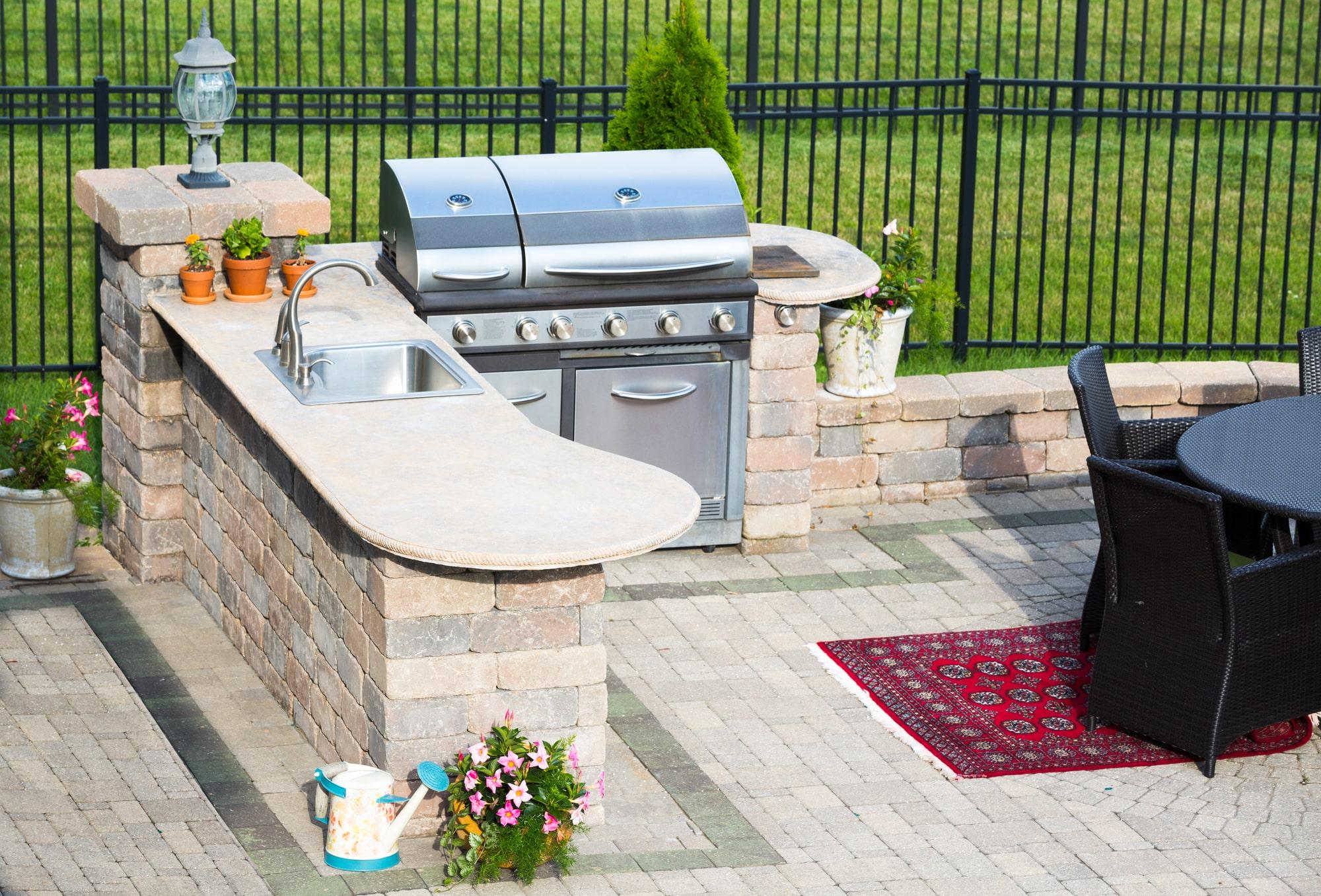 Outdoor Küche selber bauen Vorschau