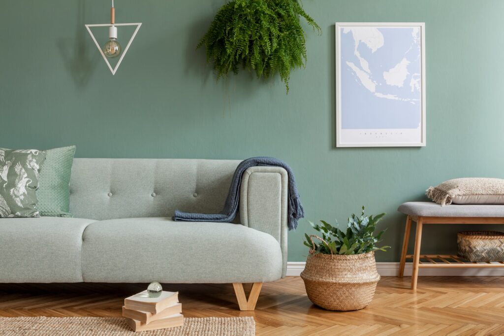 Warme Wandfarben fürs Wohnzimmer Galerie1