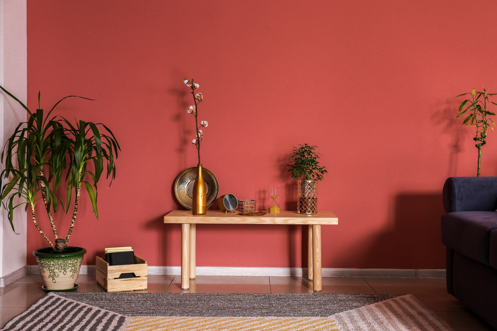Warme Wandfarben fürs Wohnzimmer Vorschau