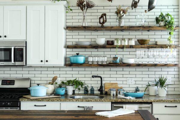 Offene Küchenregale Vorschau