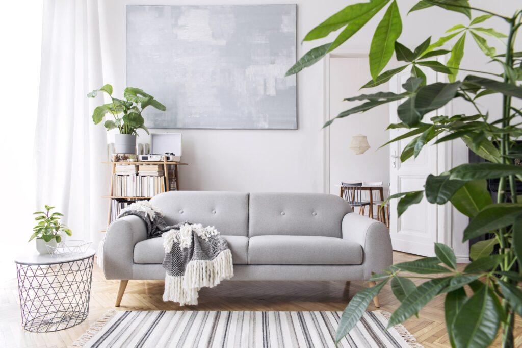 Wohnzimmer in grau Galerie1