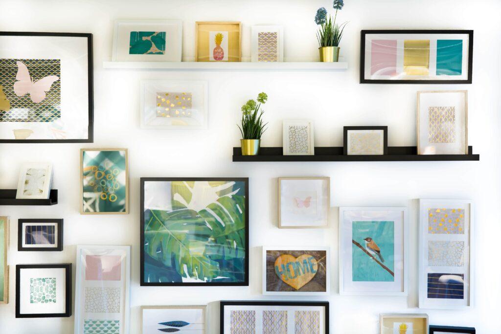 Wohnzimmer wanddeko Galerie1