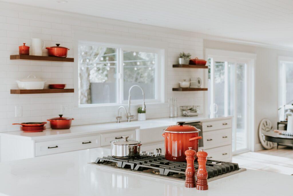 Küche ohne Oberschränke ideen Galeire1
