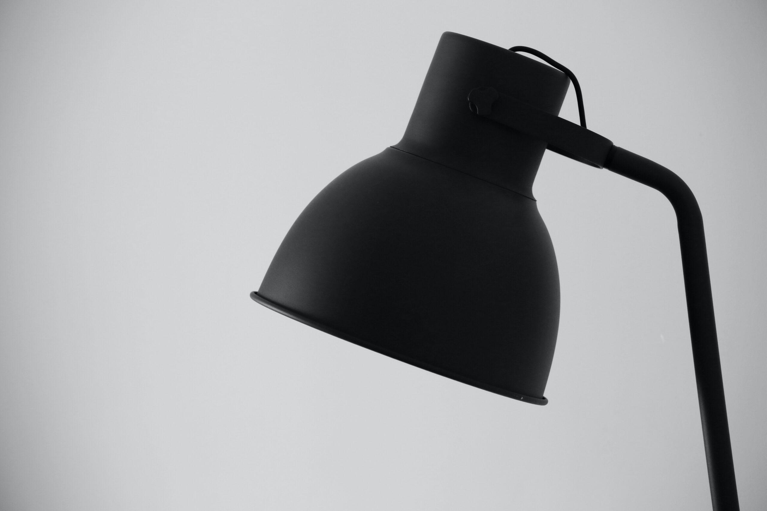 Schwarze Lampe Vorschau