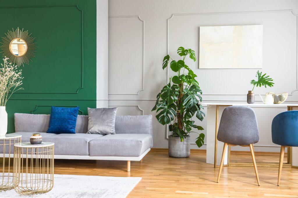 Wandfarbe Wohnzimmer Galerie1
