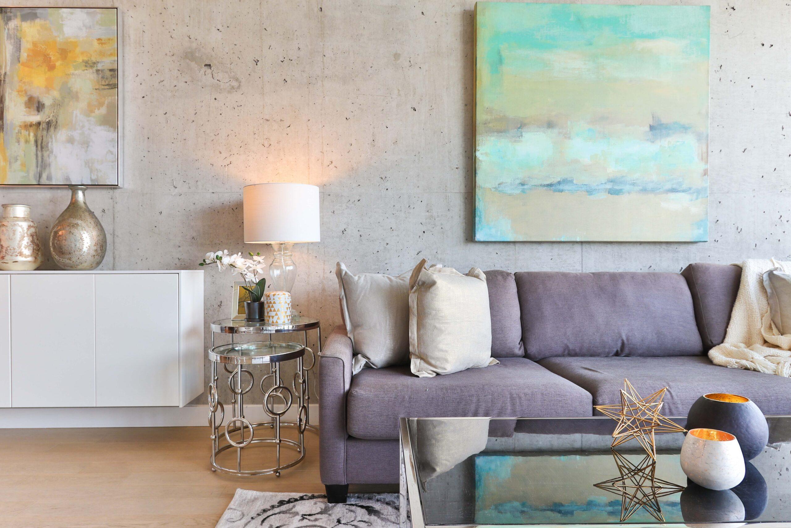 Modernes Wohnzimmer Vorschau